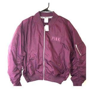PINK Victoria secret jacket maroon
